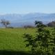 Vista sui monti dell' Alpago